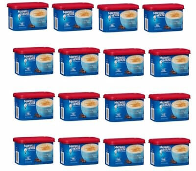 16   Maxwell House International Cafe Vanilla Bean Latte Instant Coffee Creamer