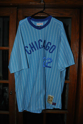 1bf25bc0e ... amazon mens chicago cubs bill buckner mitchell ness authentic jersey  sz. bfced 1d425