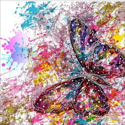 10X(5D Full Butterfly DIY Diamond Painting Embroidery Cross Stitch Home Dec R6H1