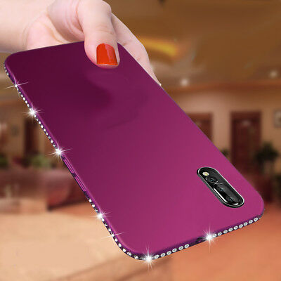 Luxury Bling Crystal Diamond Soft Slim Phone Case Cover For Huawei P20 Lite/Pro