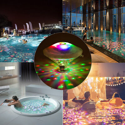 LED Pool Lights Floating Underwater Mood Lamp Water Light Show 7 Light Modes  AU