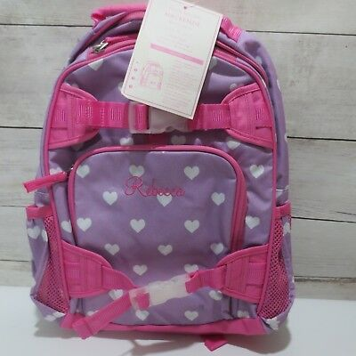 Sold Out Pottery Barn Kids Girls Small Backpack Pink Lavender