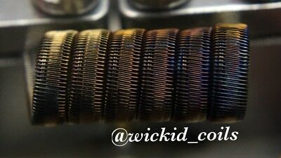 2 KPN80 8 Ply High Gauge Half Staggerton Coils + Free Coils (Staple/Alien Killer
