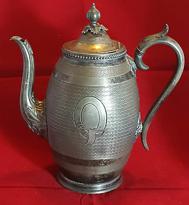 Antique James Dixons Sons Silver Plated EPBM Jug  c. 1840s