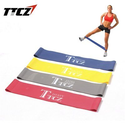 Resistance Band Exercise Elastic Tension Belt Fitness Rubber Loop Stretch YoGA #