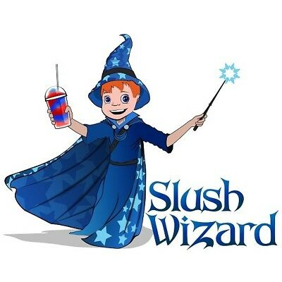 Premium Slush Syrup 4 x 5L - Slush Wizard Mixed Case Slush Syrups