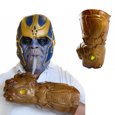 Avengers Thanos Infinity Gauntlet Glove Cup Funny Cosplay Cup Fans Gift In Box
