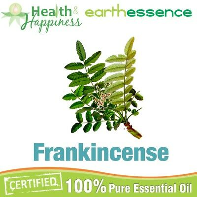 FRANKINCENSE ~ earthessence Certified 100% Pure Essential Oil ~ Aromatherapy