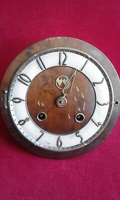 ++  OLD ART DECO MANTLE Clock Wind Up Desk Shelf Antique FOR SPARES and REPAIR