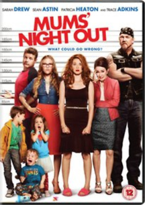 Sarah Drew, Trace Adkins-Moms' Night Out  DVD NEW