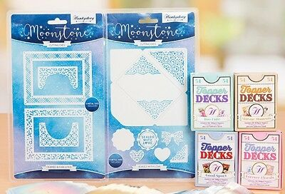Hunkydory TOPPER DECKS & CO-ORDINATING DIES Framed & Fabulous + Sealed With Love