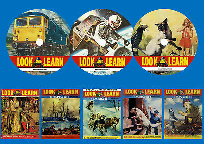 Look & Learn magazine Collections 4 to 6 On 3 DVD Rom's