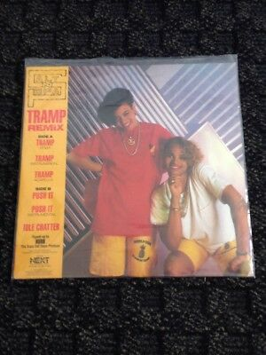 Salt -N- Pepa Ep Lp Push It Tramp Remix Hip Hop Rap Next Plateau Np-50063 1987