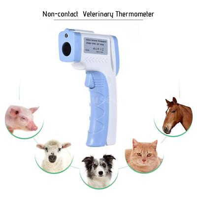Pet Non Contact Digital Infrared Laser Gun Thermometer for Dogs Cats Horses D5Z2