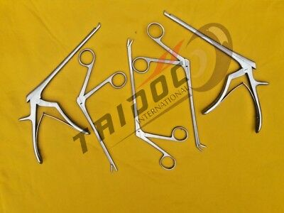 Ferris Smith Kerrison Punches and Rongeur Forceps set of 5 Surgical Inst A+ Grad