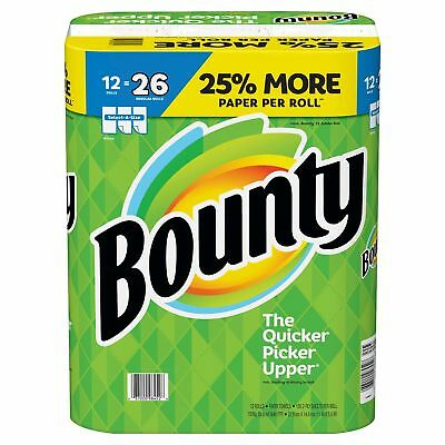 Bounty Select-A-Size Paper Towels, White (12 rolls=26 rolls)