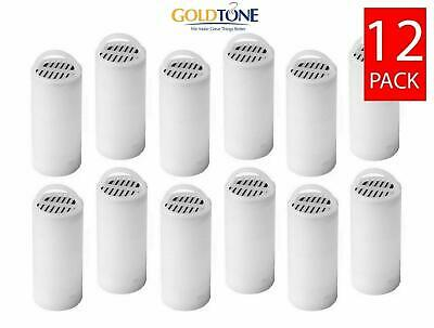 (12) GoldTone Pet Fountain Water Filters fits Drinkwell 360 & 360 Multi-Pet