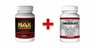 Max Robust Xtreme & Musculus Combo Pack- New & Original - Free UK Shipping