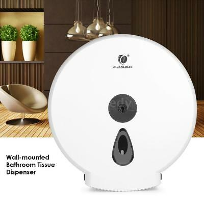 CHUANGDIAN Wall-mounted Bathroom Tissue Dispenser Round Paper Towel Holder D8W4