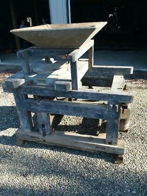 """24"""" Grist Mill Late 1800's"""