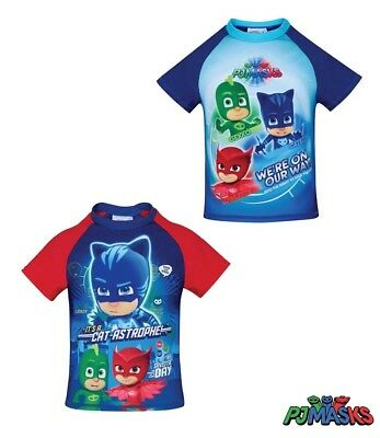 new with tags  PJ Masks Swim top 3 4 5 6 8 years