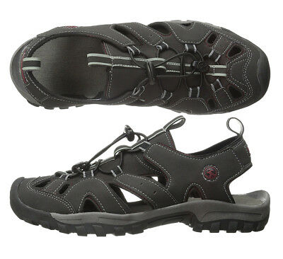 d775cb83c505 MENS SANDALS NORTHSIDE Burke II Black Sandals Mens Water Shoes NEW ...