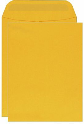 Columbian Catalog Envelopes, Self-Seal, 9 x 12 Inches, Brown Kraft, 250 Per Box