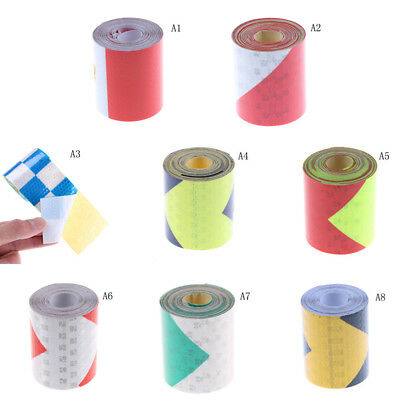 3 Meters Night Reflective Safety Warning Conspicuity Tape Strip Sticker PB