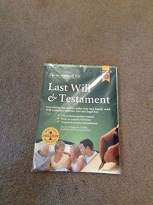 Last will and testament kit from wh smith brand new in packaging last will and testament kit from wh smith brand new in packaging solutioingenieria Choice Image