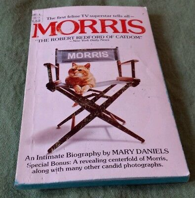 "Paperback Book 1975: ""Morris"" Star-Kist, Morris the Cat, Feline Collectible, TV"
