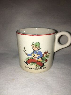 Vtg.Childs Mug / 30-40's/ Tom Tom the Piper Son Logo/