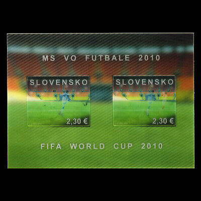 Slovakia 2010 -  Football World Cup South Africa s/s - Sc 596 MNH