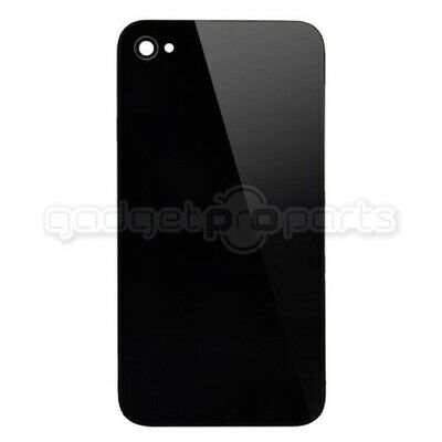 iPhone 4S/4 CDMA Back Glass NO LOGO (Black) - FREE SAME DAY SHIP MON-SAT