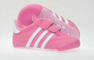 9178b338fc7ac Adidas Originals Dragon Girls Infants Toddler Baby Kids Crib Shoes Trainers