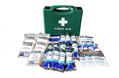1-20 Person Workplace First Aid Kit Bag Box HSE Compliant Work Place + Refills