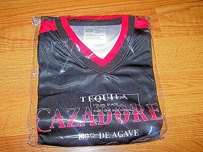 Tequila Cazadore 100% De Agave T-Shirt New In Package One Size Fits All