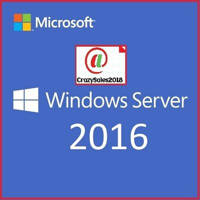 Windows Server 2016 RDS Remote Desktop Services 20 USER CAL LICENSE+=+=&&