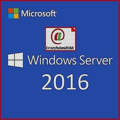 Windows Server 2016 RDS Remote Desktop Services 50 USER CAL LICENSE@+@+