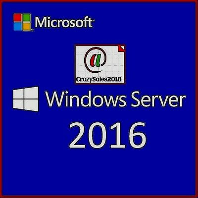 Windows Server 2016 Datacenter Version + 50 USER CALS LICENSE (BEST BUNDLE DEAL)