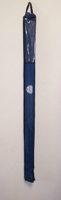 """canvas carry hold strong strap storage 50/""""x3.5/"""" NYLON FLAG POLE BAG Navy Blue"""