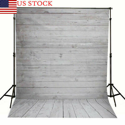 US Retro Wooden Stripe Photography Background Wall Studio Plank Backdrop Props