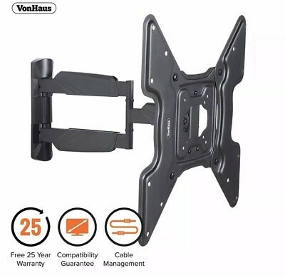 "23-55"" Tilt Swivel TV Wall Mount Bracket Sony Samsung LG Panasonic Phillips UK"