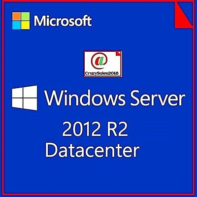 Windows Server 2012 R2 Datacenter 64 Bit Digital License Key + Download LINK