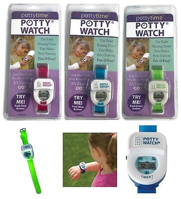 Potty Watch Special Needs Auditory Alert Autism Potty Training Aid U Pick Color