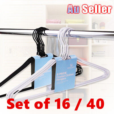 Metal Clothes  Hangers Bulk Silver Coat Clothing Coathangers Garment Shirt Suit
