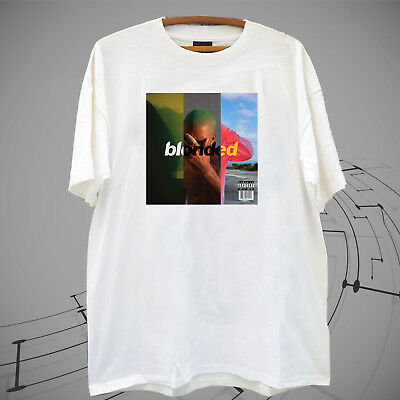 New !!Blonded Frank Ocean Logo World Tour Music 2017 White T Shirt Tee XS-2XL