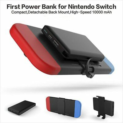 Pocket Battery Backup Power Bank for Nintendo Switch 10000mAh