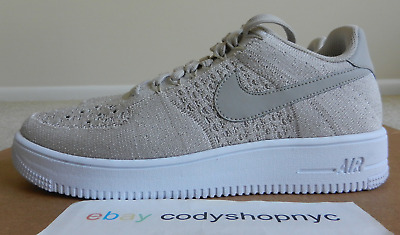 separation shoes 330c6 776b5 DS Nike Air Force 1 Ultra Flyknit Low String beige mushroom af1 khaki  817419-200