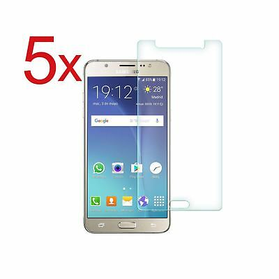 5x Tempered Glass Screen Protector For Samsung Galaxy A3 A5 S3 S5 S6 S7