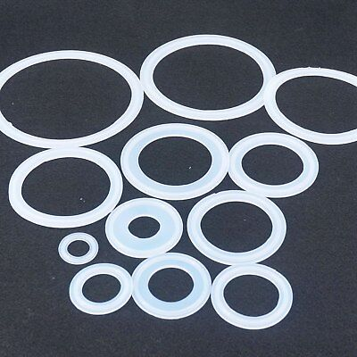 """LOT 5 Fit 1.5"""" -6"""" Tri Clamp Sanitary Silicon Sealing Gasket Ring Homebrew"""